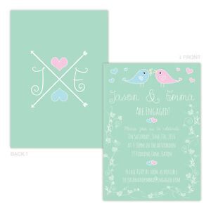 Personalised-engagement-party-invitations-LOVEBIRDS-PASTEL-FREE-ENVELOPES-amp-DRAF