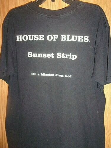 """BLUE""""S BROTHERS HOUSE OF BLUES SUNSET STRIP black"""