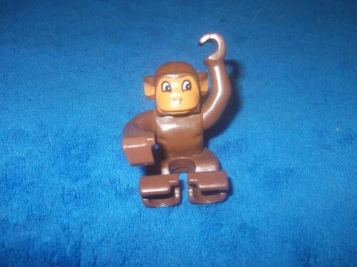 Lego Duplo Ville Zoo Safari 1 X großer Affe Braun Schimpanse bewegliche Arme