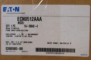 EATON-CUTLER-HAMMER-ECN0512AAA-120V-Size-1-AN16DN0-Starter-Nema-3R-Enclosure