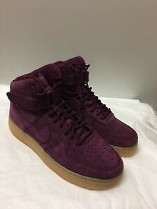 NIKE AF1 HIGH GS Nike Air Force 1 High Bordeaux 922066-600 New 2017 ... 2fc6900bf