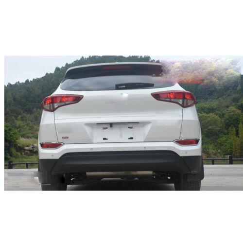 2Pcs Chromed Rear Tail Fog Light Lamp Cover Trim For Hyundai Tucson 2015-2018