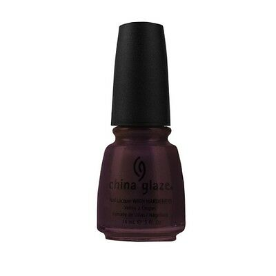 CHINA GLAZE Nail Lacquer with Nail Hardner 2 - Side-Saddle