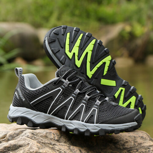 Mens Breathabl Hiking Shoes Sneakers Lightweight Athletic Trekking Boots Size US
