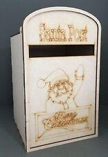 Y59 SANTA XMAS NORTH POLE Elf CHRISTMAS LETTER POST BOX Childrens Naughty List