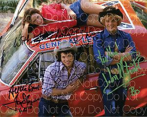 Details about Dukes of Hazzard Original cast signed 8X10 photo picture ...