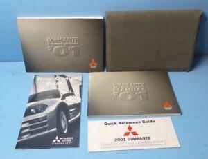 01 2001 mitsubishi diamante owners manual ebay rh ebay co uk 2007 Mitsubishi Diamante 2000 Mitsubishi Diamante
