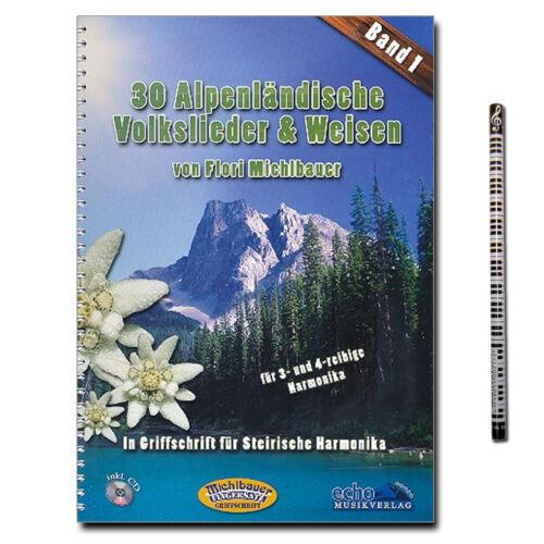 EC3103 EC022244 30 alpenländische Volkslieder und Weisen mit PianoBleistift