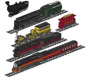 Custom Lego Train Instructions Cd Ebay