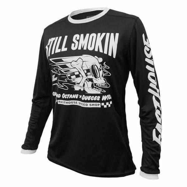 Fasthouse Adults Mens Still Smokin' Motocross MX Bike Riding Racing Top Jersey