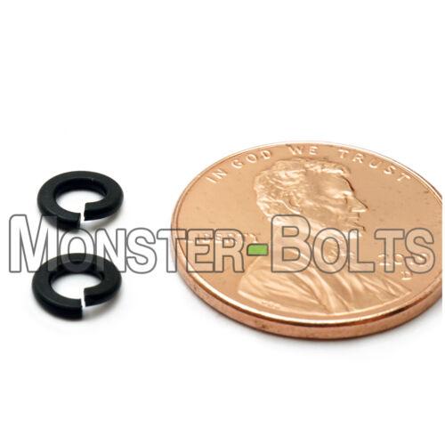 M2 M2.5 M3 M4 M5 M6 M8 M10 Metric Steel Split Lock Washers w Black Ox DIN 127B