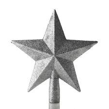 8b04fb4b0666 20CM Glitter Star Christmas Tree Topper Ornaments Xmas Decoration 3 Colors  UK