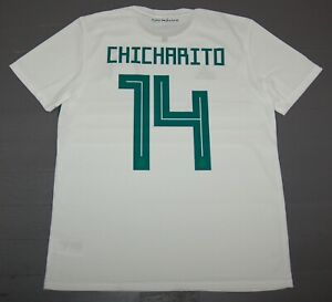 821460416fd Image is loading Adidas-Men-039-s-CHICHARITO-Mexico-Away-Soccer-