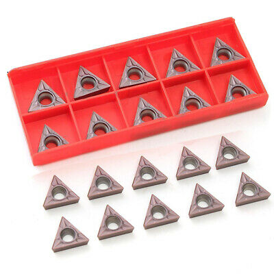 "10pcs TCMT16T304 Tungsten Carbide Inserts TCMT 32.51 Set For 1//2/"" Lathe Tools"