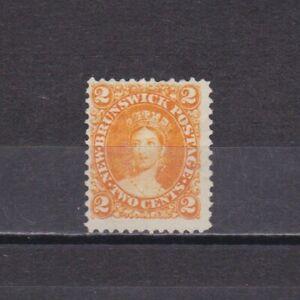 NEW BRUNSWICK CANADA 1860, SG# 10, CV £29, Queen Victoria, NG