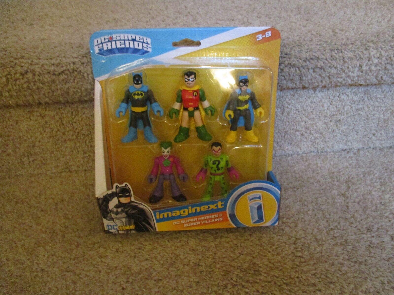 Imaginext DC DC DC Super Friends Super Heroes Villains Adam West Riddler question NEW d4fb74