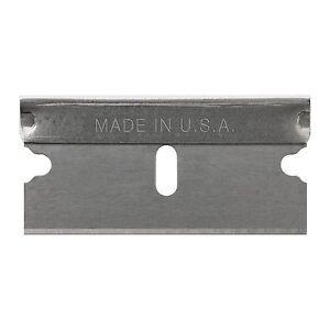 Bohle-Single-Edge-Razor-Blades-For-Laminated-Glass-Knife-amp-Scraper-x-100-5141001