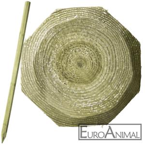 Octo Wood Holzpfahl 8cm x 200cm imprägniert Holzpfähle Weidezaunpfahl Pfosten