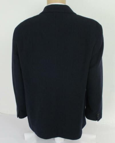 Peacoat Manteau marine Btn pour Bleu unie 44 laine Homme en 3 Rs Blouson LGap xeCBrdo