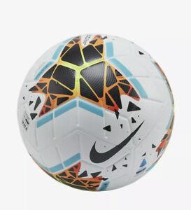 Rusia Melodrama Meyella  Nike Merlin 19/20 Serie A Fifa Quality Official Match Ball Size 5 () | eBay