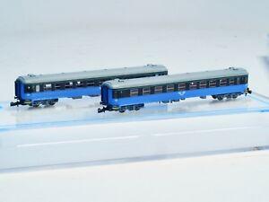 FR-Z-scale-SJ-litt-B-NEW-LIVERY-two-passenger-cars-2nd-class-Swedish-RR