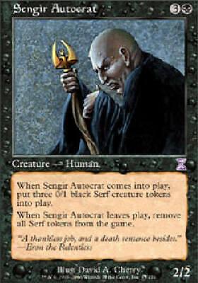 Master Breeder 4 PLAYED Endrek Sahr Black Time Spiral Mtg Magic Rare 4x x4