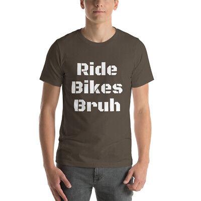 Ride Bikes Bruh funny Puerto Vallarta Cycling short sleeve t shirt