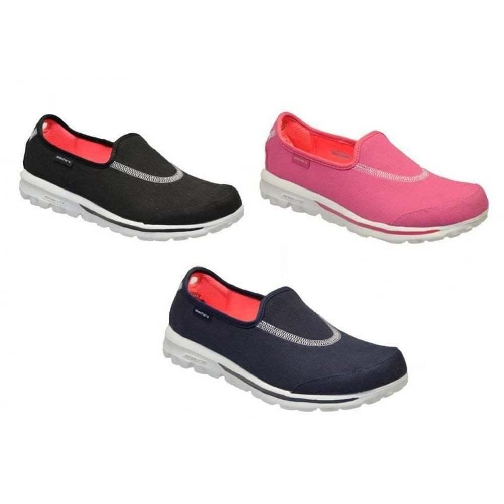 Skechers Go Walk Extend damen Slip On All Größes in Various Colours