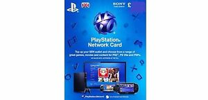 PSN UK Playstation Network Card Key £25 - PS3 - PS4 & PS Vita SAME DAY DISPATCH