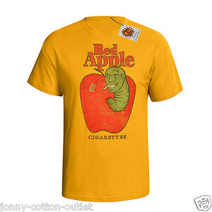 Red Apple Cigarettes Mens T Shirt Pulp Fiction Inspired