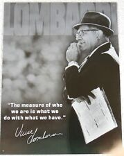 Vintage Replica Tin Metal Sign Vince Lombardi football player coach poster 1726