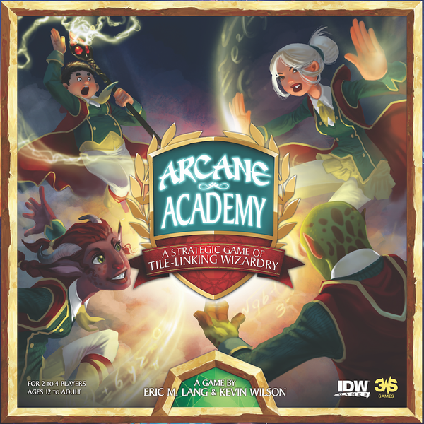 Arcane Academy Board Game - Cast Spells and Graduate as Best Student Wizard