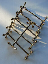 Art Deco Silber Messerbank Besteck Ablage Accessoires Metall Messerbänke alt