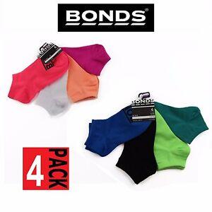 12 x PACK BONDS KIDS SOCKS Boys Girls Low Cut  Blue Green Pink White 2-12 years