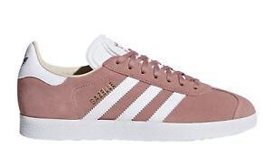 adidas-Gazelle-Farbe-Rosa-CQ2186-PinkTurnschuhe-rose-Unisex-NEU-Echtleder-PX-neu