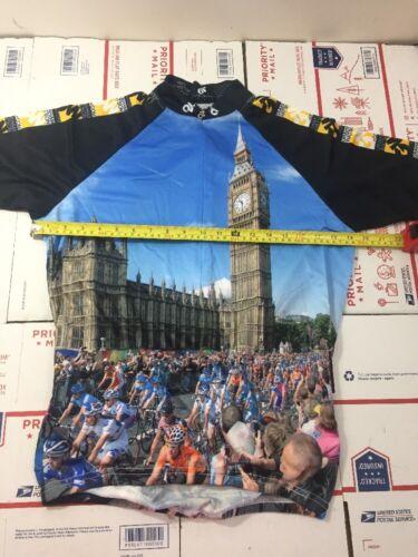 4756-12 Champion System Graham Watson Mens Cycling Jersey Size Medium M