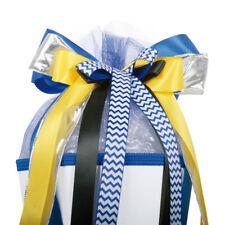 ROTH Schultüte 85cm 6eckig Quad für Jungen Motor blau gelb Zuckertüte EInschulun