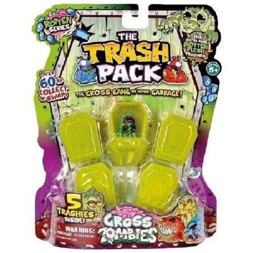 TRASH PACK Zombie lordo 5 Pacco Da Trash Pack