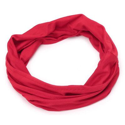 Women Elastic Stretch Wide Hairband Yoga Headband Turban Running Head Wrap Hot