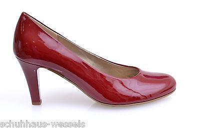 Gabor Pumps Rot Lack Damen Schuhe NEU 81.280.75