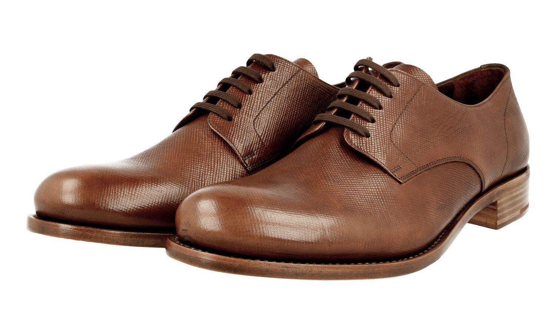 shoes PRADA SAFFIANO LUSSO 2EA104 PALISSANDRO NUOVE 8 42 42,5