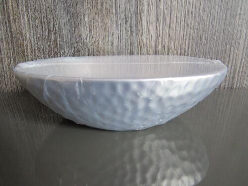 NEUF SPIRELLA Darwin martelé en grès Soap Dish Silver