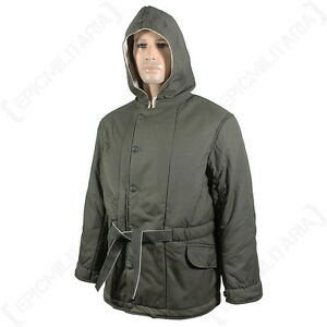 0ee4302573ab WW2 German Grey Padded Parka - Repro Army Heer Reversible Coat ...