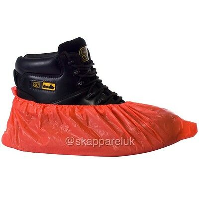 2000 X desechable fuerte cubiertas de zapatos protectores de arranque Overshoes Azul Alfombra Suelo