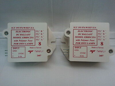 IGT Ballast With Polymer Fuse 25 Volts DC 15 Watt 195-076-90