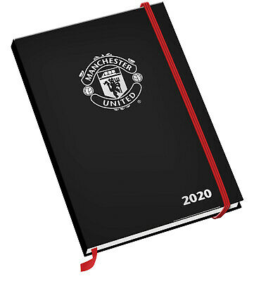 Manchester United FC Official 2020 Diary Week to View Slim Pocket format