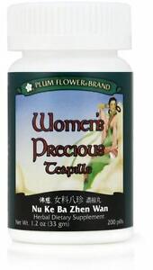 Plum-Flower-Womens-Precious-Teapills-Nu-Ke-Ba-Zhen-Wan-200-ct