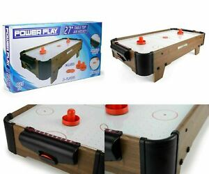 Toyrific-Power-Play-28-034-Table-Top-Air-Hockey-Kids-Adults-Family-Game-Toy-Set-NEW