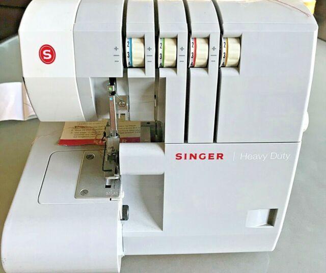 Singer 14HD854 Heavy Duty Overlock Serger Sewing Machine w Foot Pedal