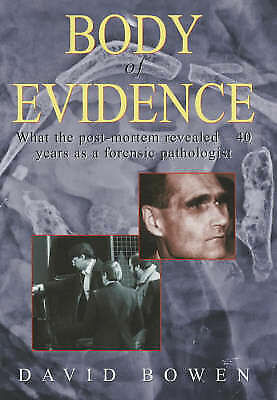 1 of 1 - Bowen, David, Body of Evidence, Very Good Book